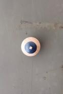 Boule magnétique rond bleu