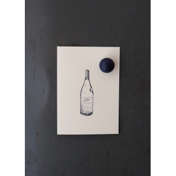 magnetic ball, blue