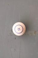 Boule magnétique cercle bleu