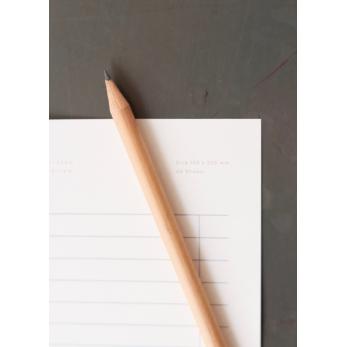 Magnetic paper pencil, natural