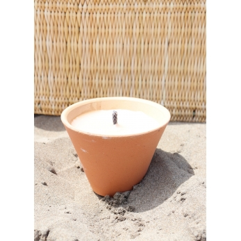 Citronella outside candle, papyrus
