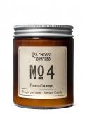 """Bougie No 4 """"Fleurs d'Oranger"""""""