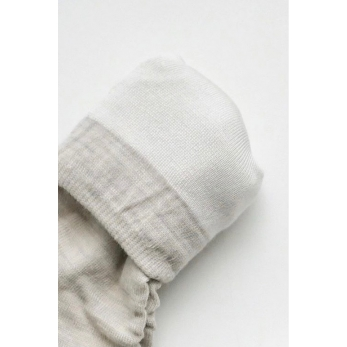 Silk wool double-faced socks, oatmeal