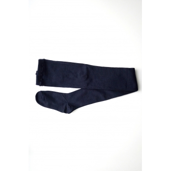 Merino wool Tights, navy blue