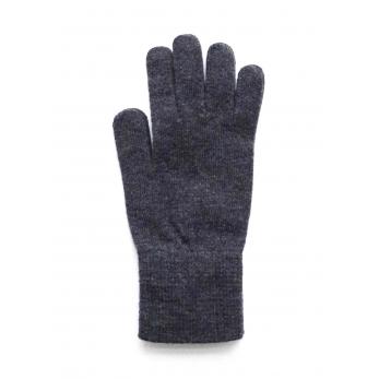 Uruguayan wool gloves, charcoal