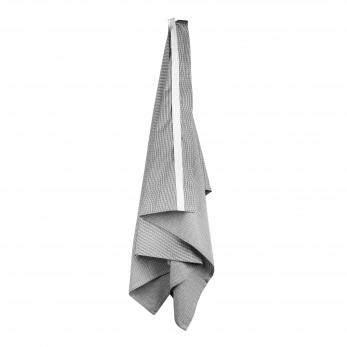 Wellness towel, light grey cotton