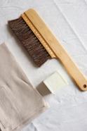Torchon, coton beige