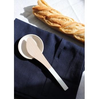 Torchon, coton bleu marine