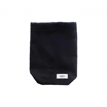 Food bag, black cotton