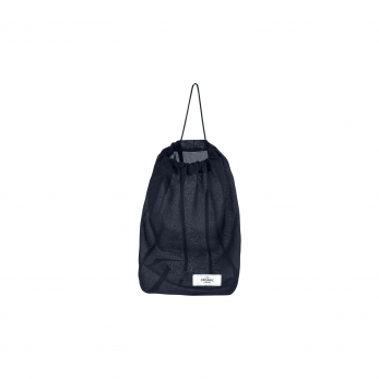 Food bag, navy blue cotton