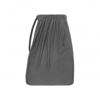 Laundry and storage bag, grey cotton