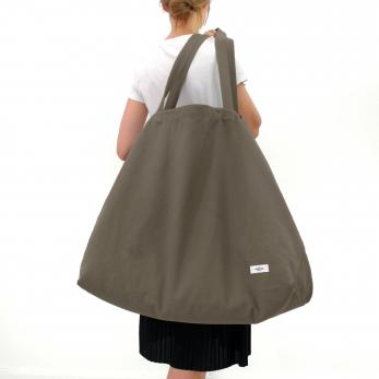 XXL bag, stone cotton