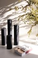 Pillar candle, black