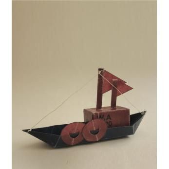 Kit bateau cargo à construire soi même