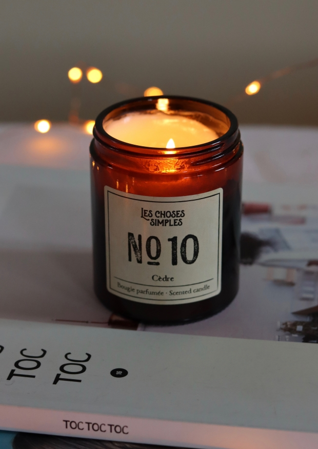 "Candle No 10 ""Cedarwood"""