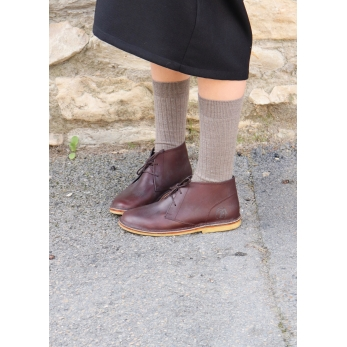 Camargue shoes, Coffee calf