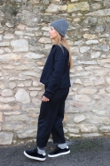 Hat PLUM, dark grey