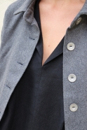 Jacket, grey wool blend