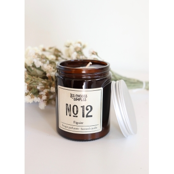 """Candle No 12 """"Fig"""""""