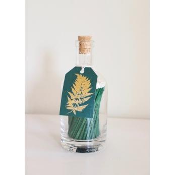 Match bottle, green