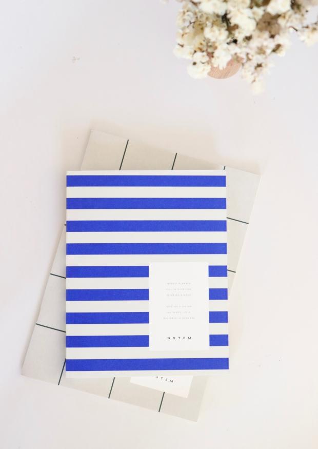 Planificateur hebdomadaire UMA, bleu