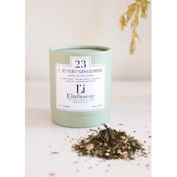 Organic green tea : Ginger
