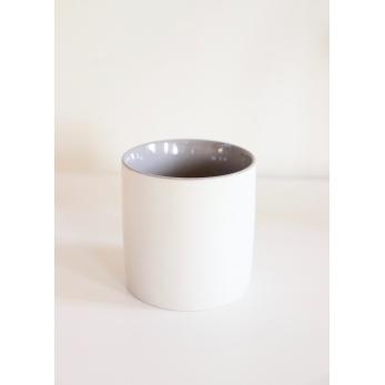 Tasse à café grise