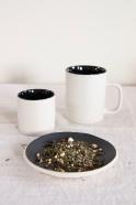 Black coffe cup