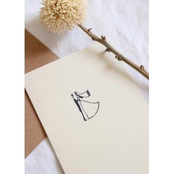 Carte postale Les mariés