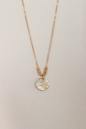"""""""Shell"""" necklace gold"""
