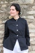 Jacket 04, black denim