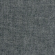 Robe évasée manches 3/4, col V, lin gris