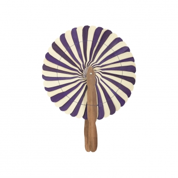 Éventail violet