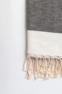 Beach towel, grey