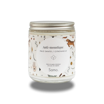 Scented candle Mostuqito repellent