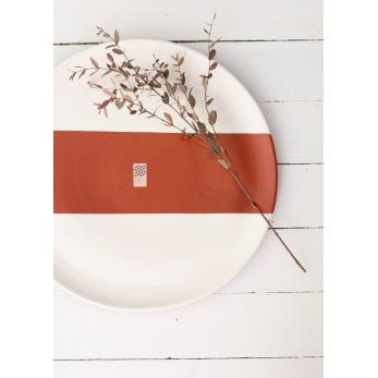 Terracota XXL plate