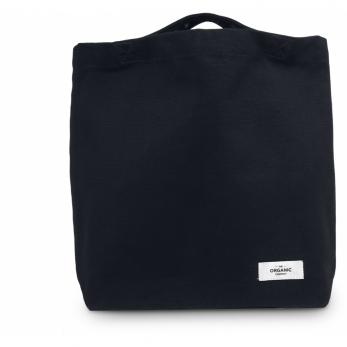 Organic bag in black cotton