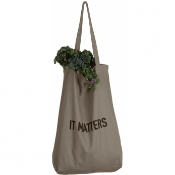 It matters bag in clay cotton