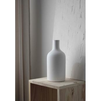 Vase 02, white ceramic