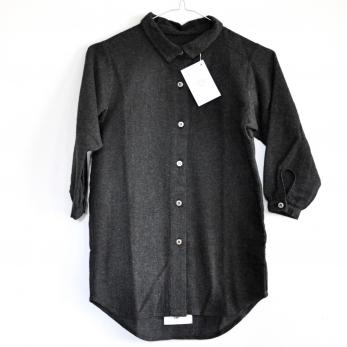 robe charpentier, tissu gris