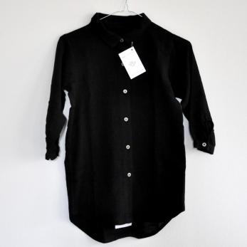 robe charpentier, tissu noir