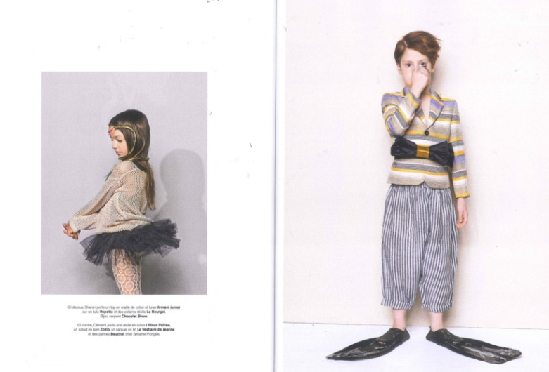 Marie Claire Enfant, february 2014
